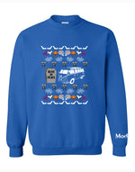 VW Bus Halloween Ugly Sweater