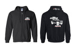 Chevy Square Body 4x4 Stepside Truck Full Zip Hoodie