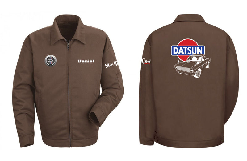 Datsun 1200 Pick up Logo Mechanic's Jacket