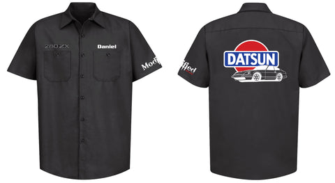 Datsun 280zx Mechanic's Shirt