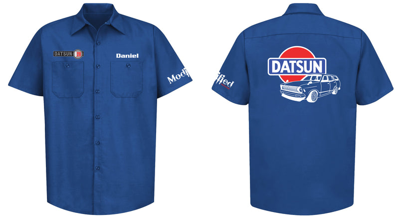 Datsun B210 Wagon Mechanic's Shirt