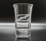 Datsun Z Logo Shot Glass