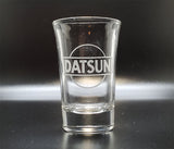 Datsun Logo Shot Glass