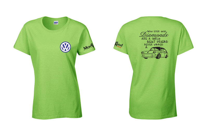 VW Fastback Diamonds Ladies Shirt