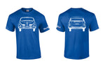VW Karmann Ghia Front/Back Shirt