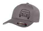 VW Karmann Ghia Front Fitted Hat