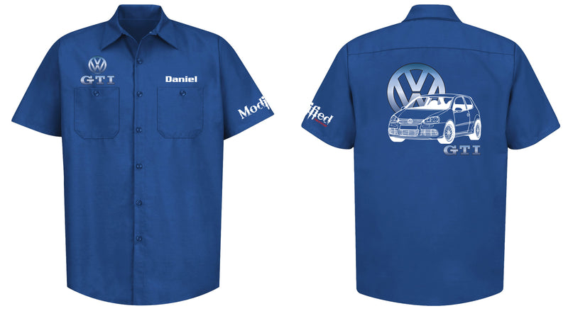 VW Golf GTI MK6 Mechanic's Shirt