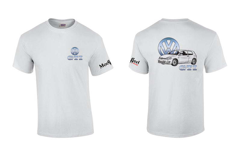 VW Golf GTI MK7 Logo Shirt