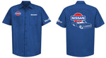 Nissan Hardbody Logo Mechanic's Shirt