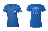 VW Karmann Ghia Diamonds Ladies Shirt