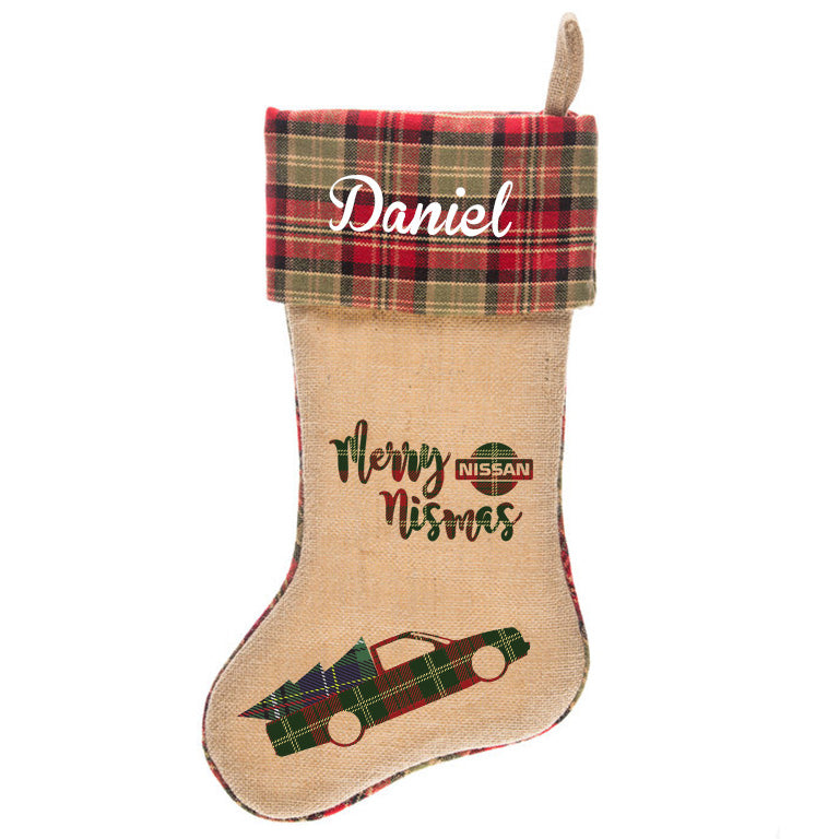 Merry Nismas Hardbody Christmas Stocking