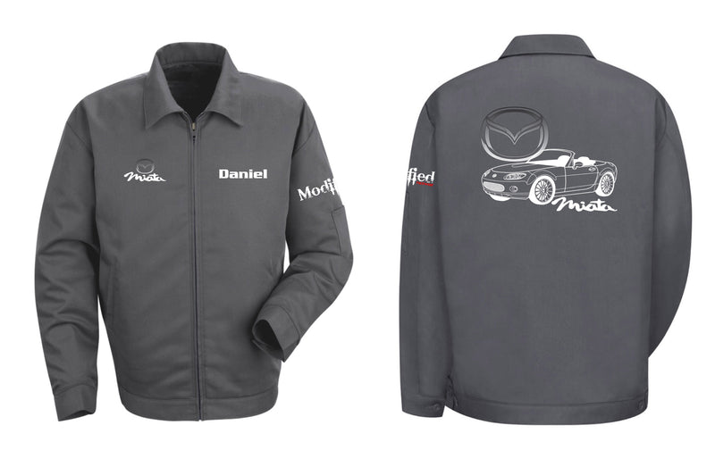 Mazda Miata NC Logo Mechanic's Jacket