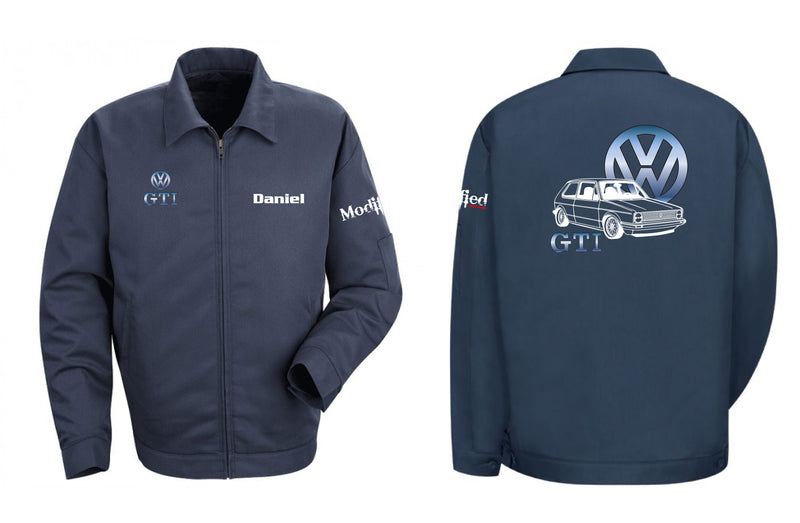 VW Golf GTI MK1 Logo Mechanic's Jacket