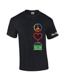 Peace Love Bay Window Bus Shirt