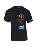 Peace Love Split Window Bus Shirt