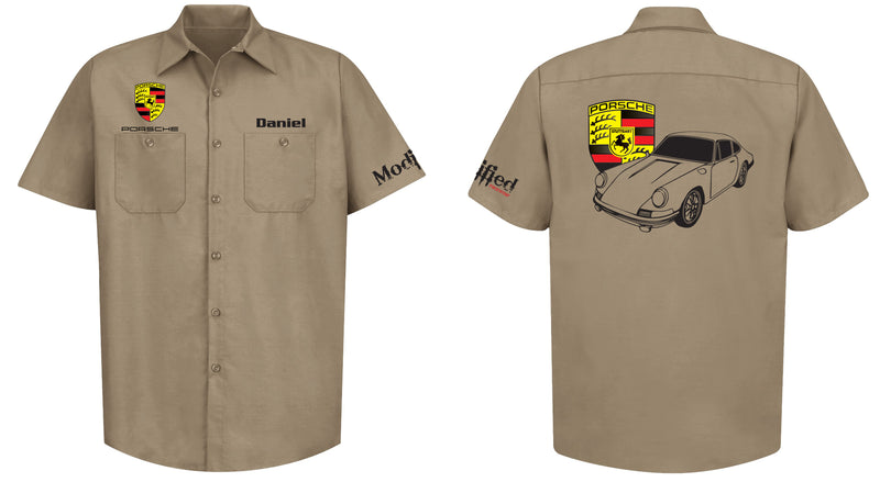Porsche 911 Mechanic's Shirt