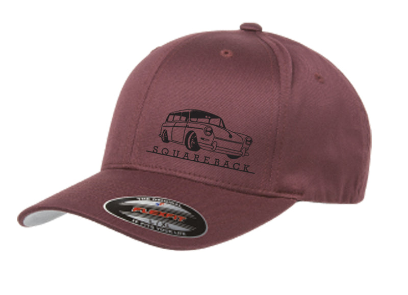 VW Squareback Script Fitted Hat