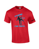 Stripping for Car Parts Shirt