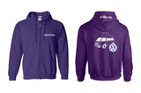 VW Vanagon Westy Full Zip Hoodie