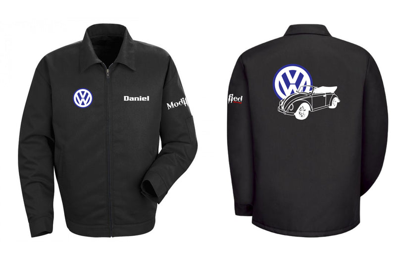VW Bug Vert Logo Mechanic's Jacket