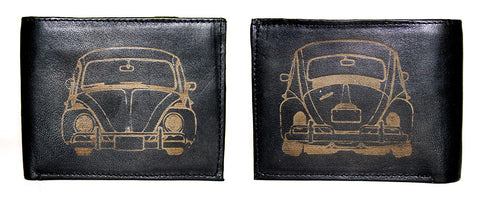 VW Bug Front/Back Wallet