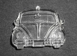 VW Bug Front Christmas Ornament