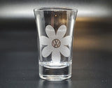 VW Daisy Shot Glass