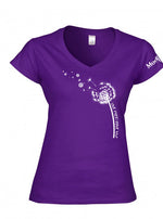 VW Dandelion Ladies V-Neck Shirt