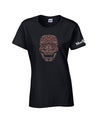 VW Fall Sugar Skull Ladies Shirt