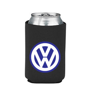VW Logo Can Koozie