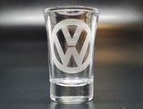 VW Logo Shot Glass