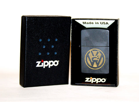 VW Peace Sign Zippo Lighter