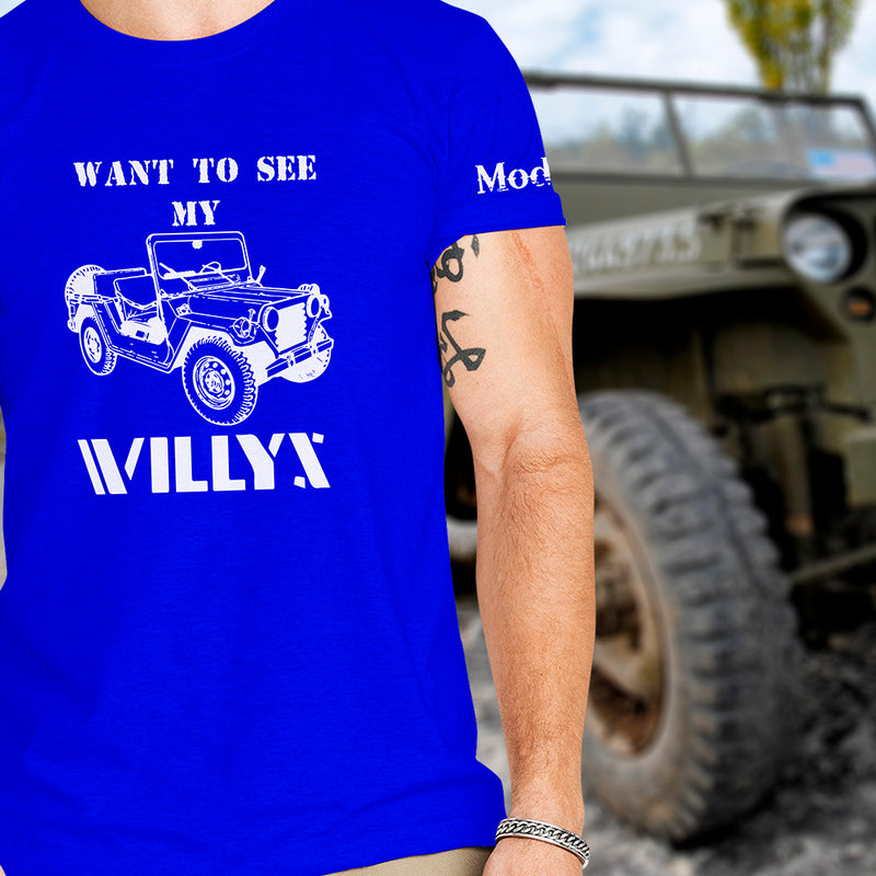 Want to See My WILLYS Shirt