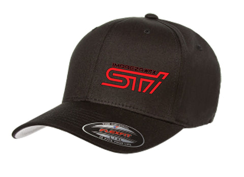 c3382e0769f50 Subaru Impreza WRX STI Logo Fitted Hat – Modified racewear