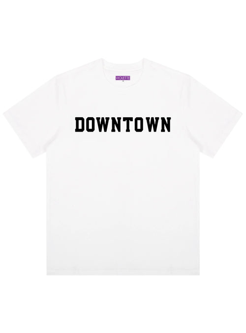 WHITE DOWNTOWN TEE