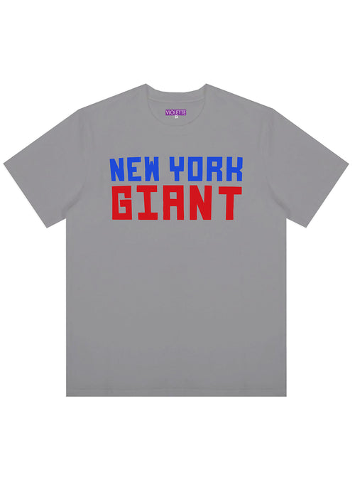 GREY NEW YORK GIANT TEE
