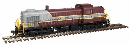 NEW! HO Atlas RS-3 Locomotive Canadian Pacific #8448 Block Lettering with DCC/Sound