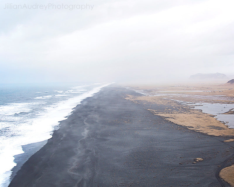 Across the Black Sand / Photography Print