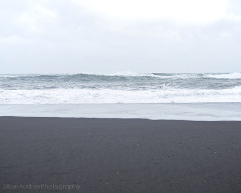 Black Sand / Photography Print