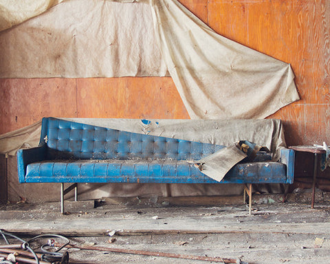 Blue Couch / Photography Print