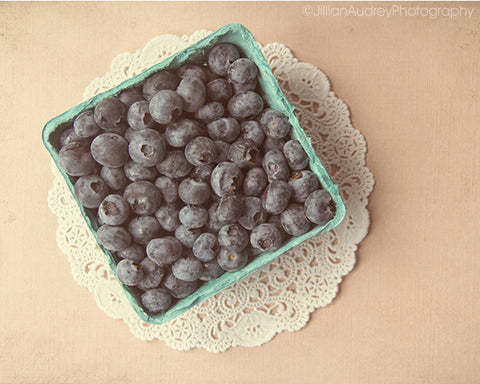 Blueberries / Photography Print