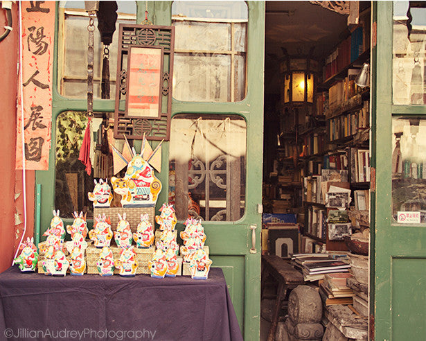 Books and Bunnies / Photography Print