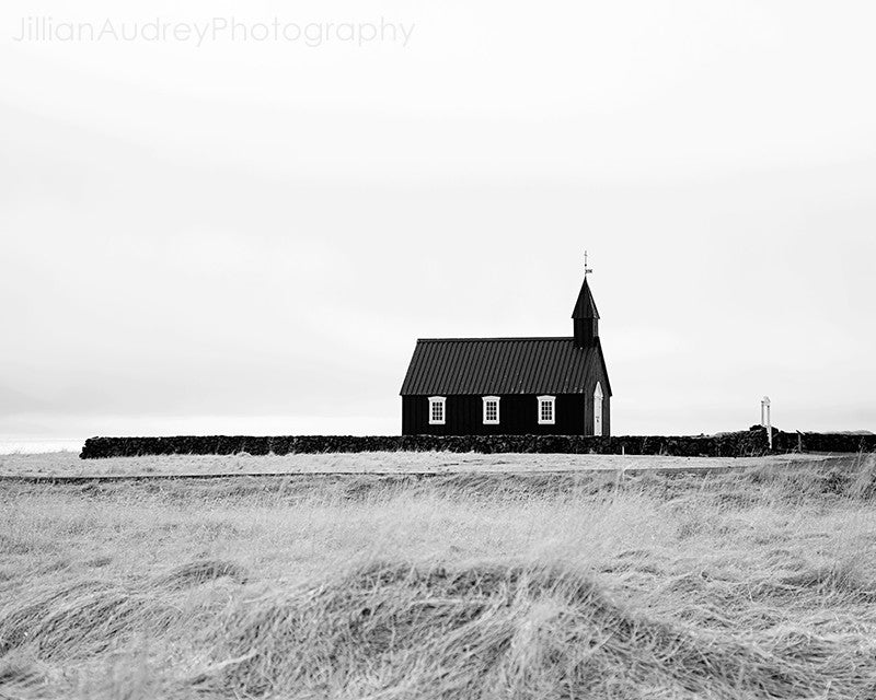 Búðir In Black and White / Photography Print