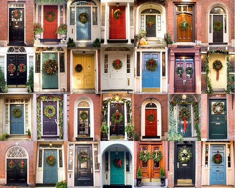 Christmas Doors / Photography Print