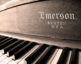 Emerson Piano / Photography Print