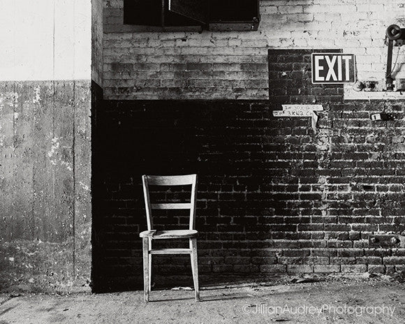 Exit / Photography Print