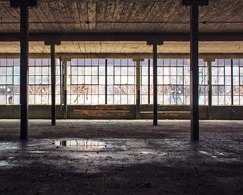 Factory Floor / Photography Print