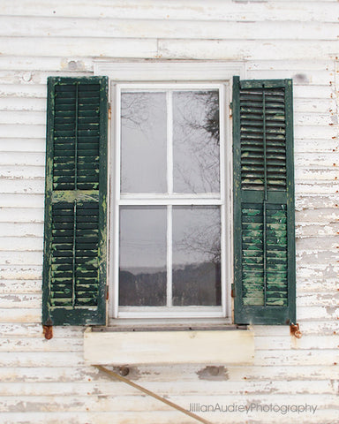 Farmhouse Window / Photography Print
