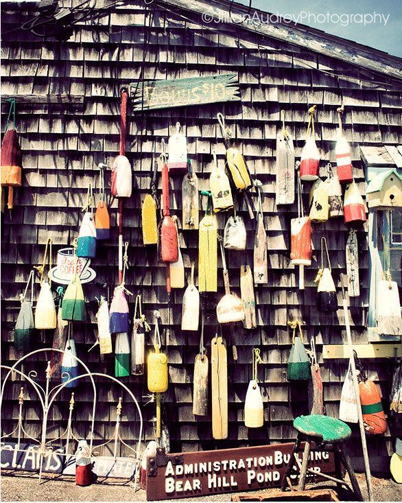Hanging Buoys No. 1 / Photography Print
