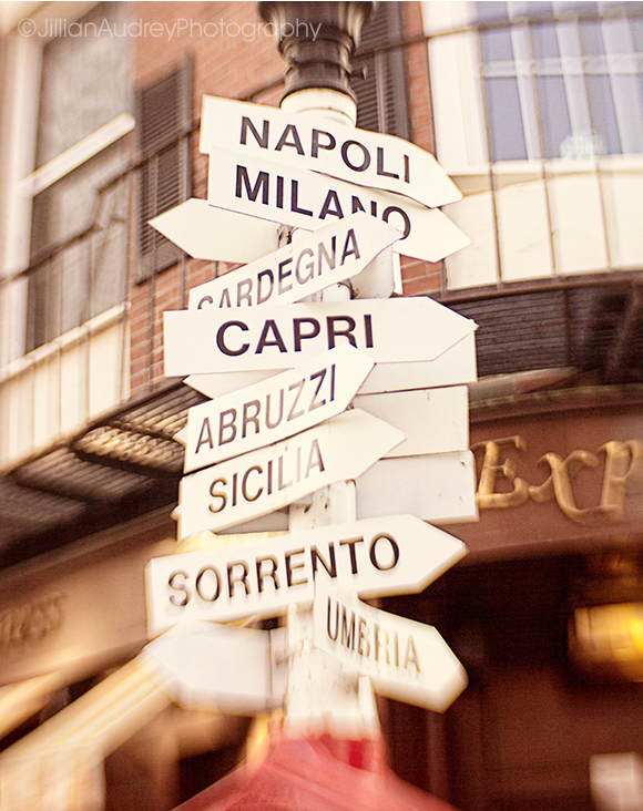 Lead Me To Italy / Photography Print